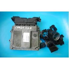 Блок управления двигателем 1.3D OPEL Corsa